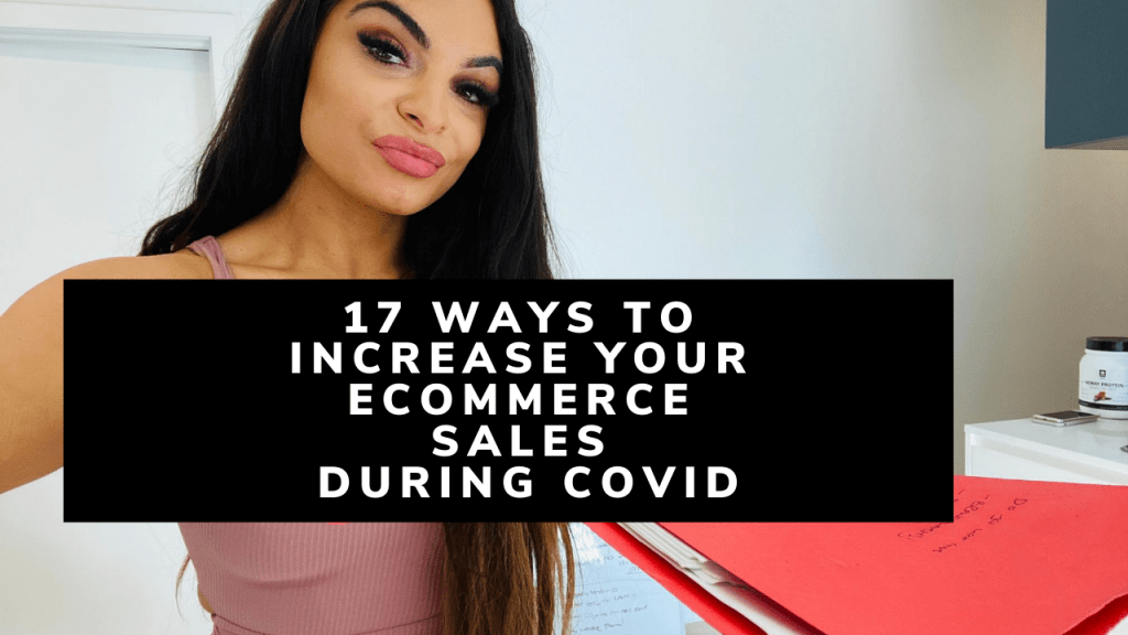 17 ways to increase your ecommerce sales